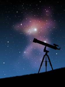 Telescope and stars