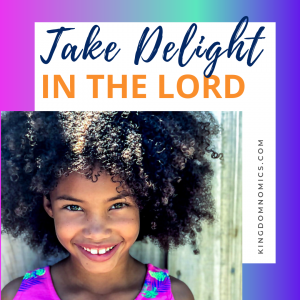Delight Yourself In God's Word