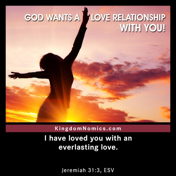 how to begin a relationship with god