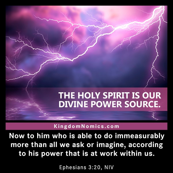 Flowing With The Holy Spirit