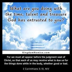 Time, Talent, Treasure
