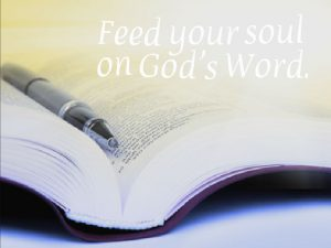 Feed your soul on God's Word | KingdomNomics