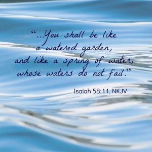 Isaiah 58:11 | KingdomNomics
