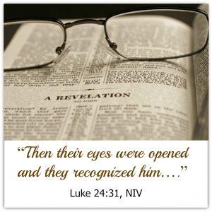 Luke 24:31 | KingdomNomics