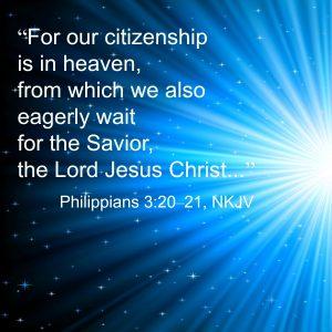 Our citizenship is in heaven | KingdomNomics.com