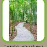 The Path to Personal Peace, Part 1