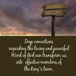 The Power of Deep Convictions | KingdomNomics.com