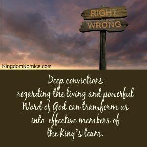 The Power of Deep Convictions | KingdomNomics.com