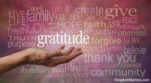 Expressing Gratitude and Praise | KingdomNomics.com