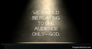 Glory Belongs to God | KingdomNomics.com