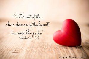 The Tablet of Your Heart | KingdomNomics.com