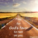 How to Experience God's Favor