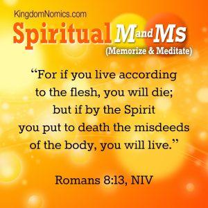 The Spirit Empowers | KingdomNomics.com