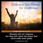 Embrace Son Power