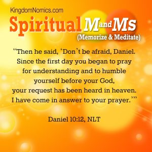 God Does Respond! | KingdomNomics.com