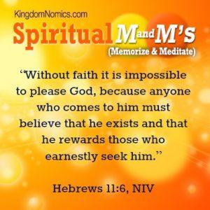 God Rewards Those Who Seek Him | KingdomNomics.com