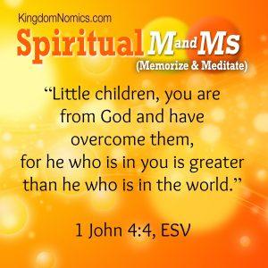 God's Power Factor | KingdomNomics.com