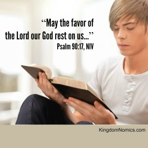 Pray for the Favor of God to Rest on You | KingdomNomics.com