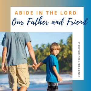 Abide in the Lord